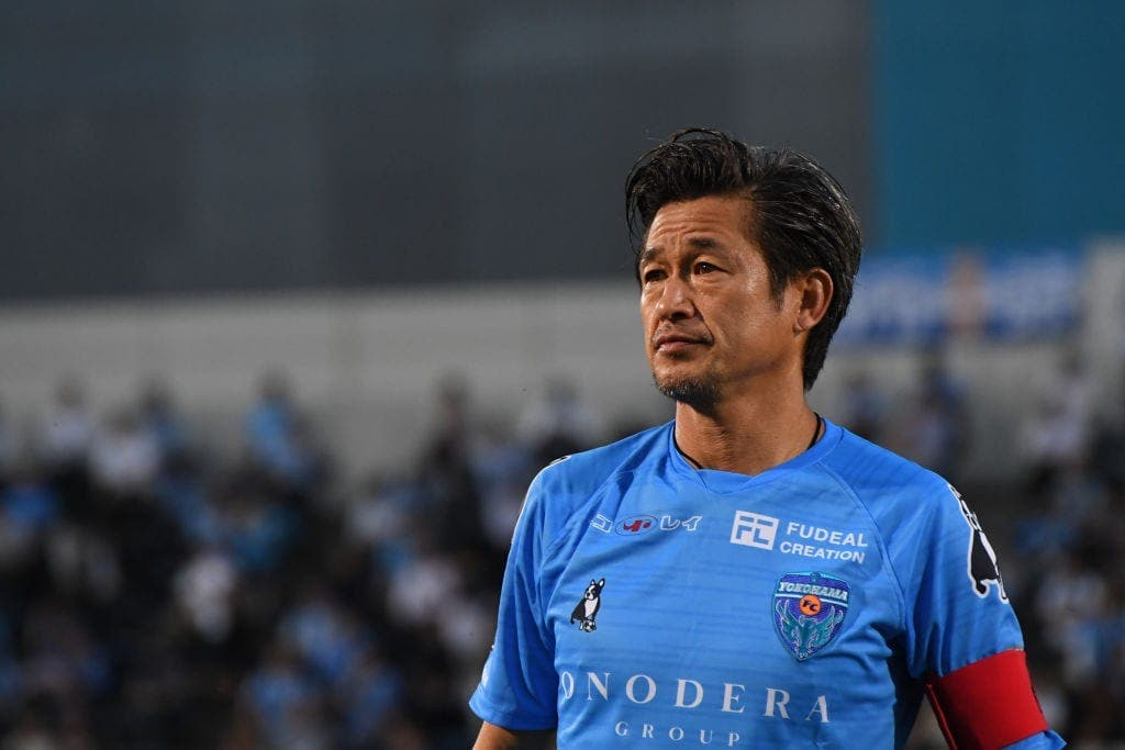 Football/Kazuyoshi Miura (54 ans) prolonge son contrat