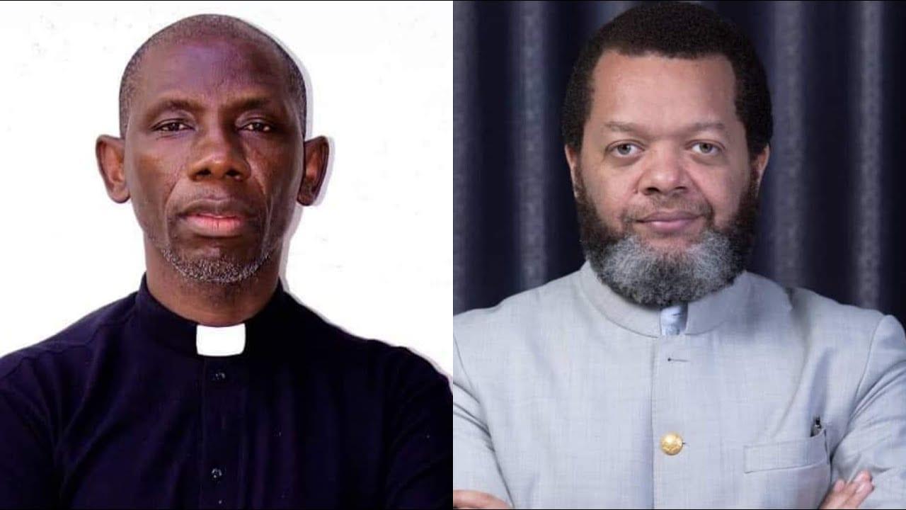 Le pasteur Marcelo Tunasi et le prêtre catholique Blaise Kanda se clashent