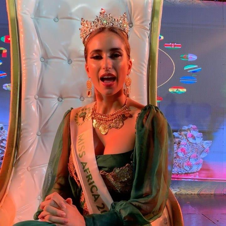 Miss Afrique 2020 : La Tunisienne Sarra Sellimi élue (photos)