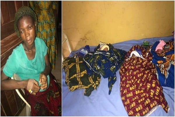 Nigeria: un père de cinq enfants s'enfuit après la naissance de ses quadruplés…la jeune maman désemparée