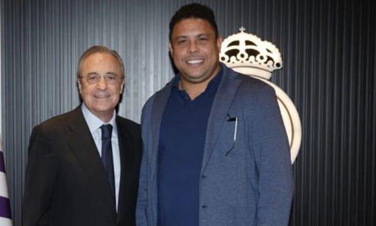 Réal Madrid: Florentino Pérez rencontre Ronaldo Luís Nazário pour un dossier prêt à se décanter