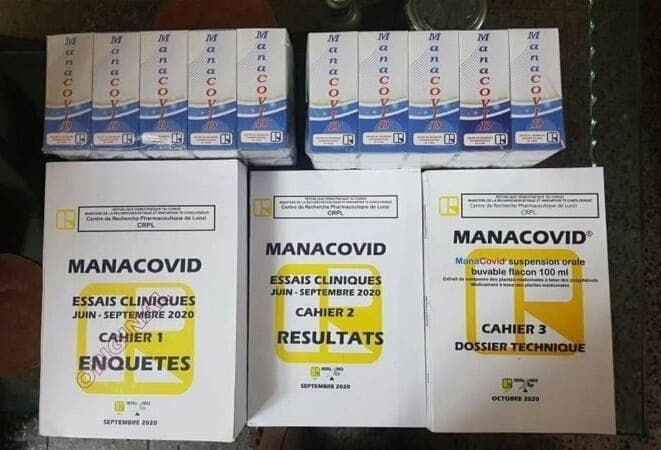 RDC/Manacovid : un ''produit efficace'' contre le Coronavirus