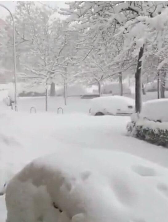 Liga: Le match atlético de Madrid et Bilbao reporté à cause de la tempête de neige