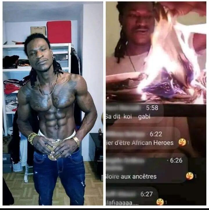 Togo : Un rappeur brûle la Bible dans un direct Facebook