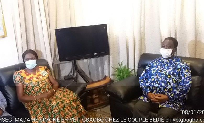 """Côte d'Ivoire/ Simone Gbagbo, chez Bédié, précise:"""" Je ne suis pas venue pour parler de politique"""""""