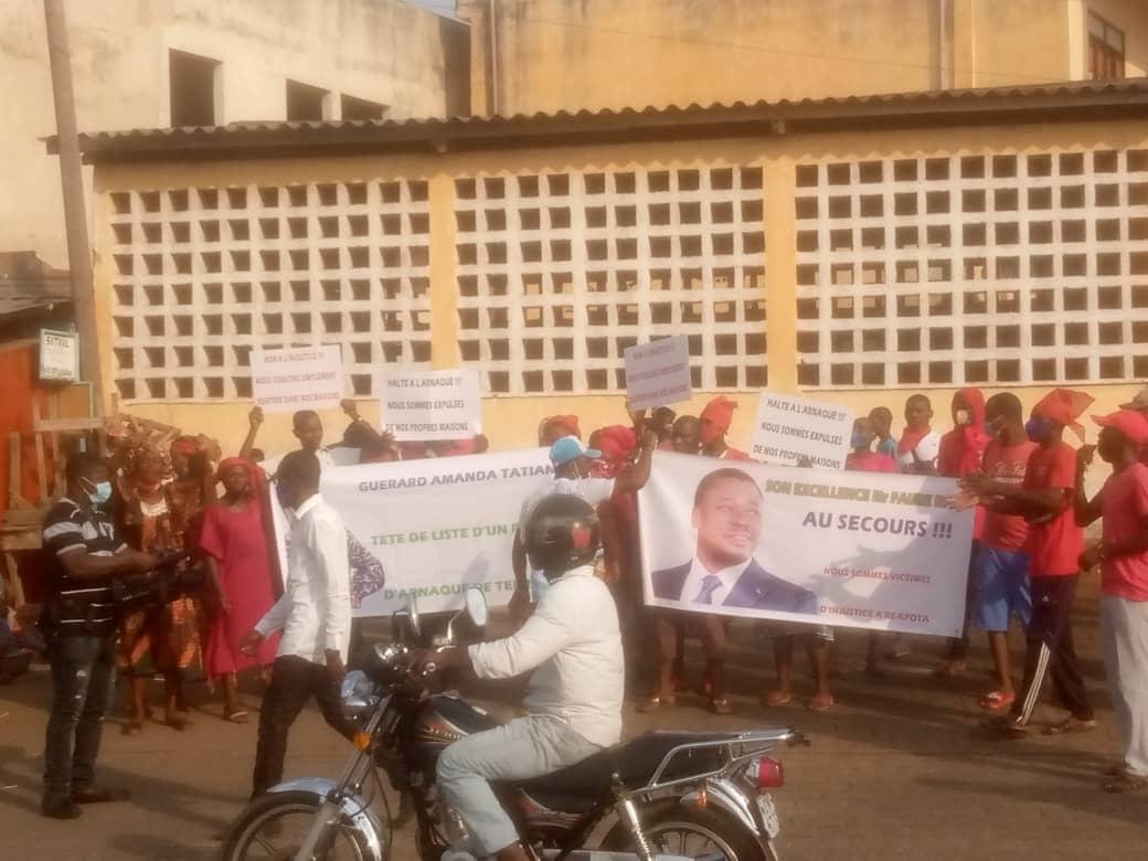 Bè-Kpota : Des habitants expulsés de deux maisons se retrouvent dans une misère indescriptible