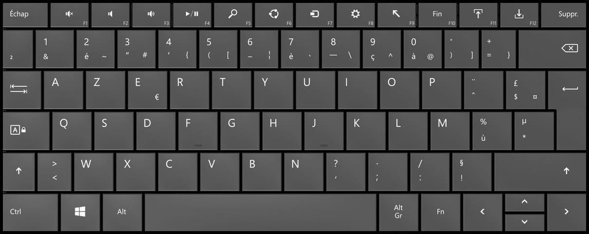 Comment passer d'un clavier QWERTY à un clavier AZERTY ?