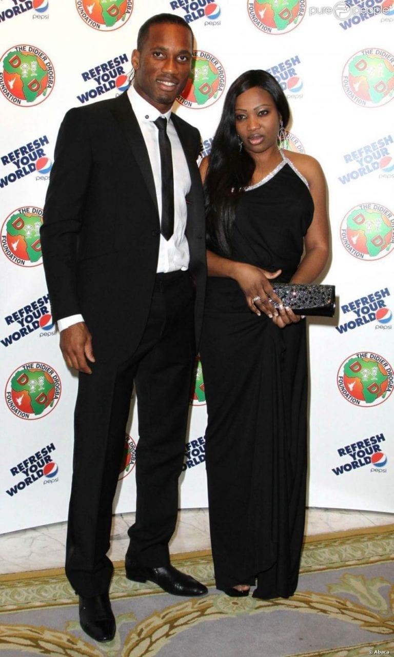 Accusé d'infidélité, Drogba officialise son divorce