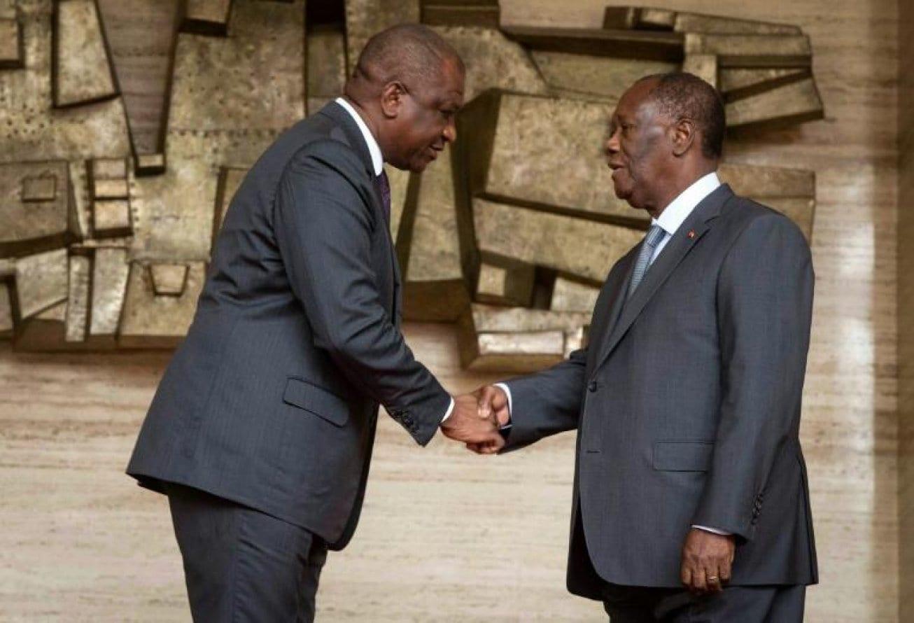 Côte d'Ivoire : Alassane Ouattara encense Hamed Bakayoko