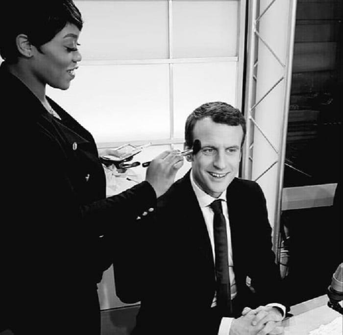 Lauren Morgan, la femme qui maquille Emmanuel Macron et les géants du monde