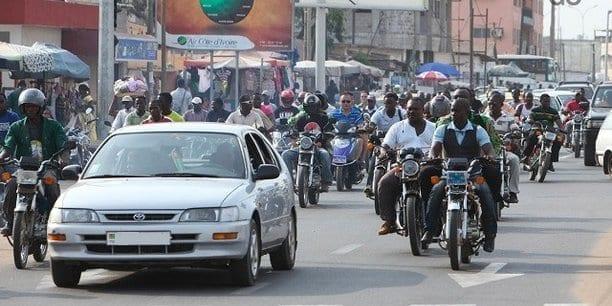 Togo : La taxe des véhicules à moteur entre en vigueur (photo)