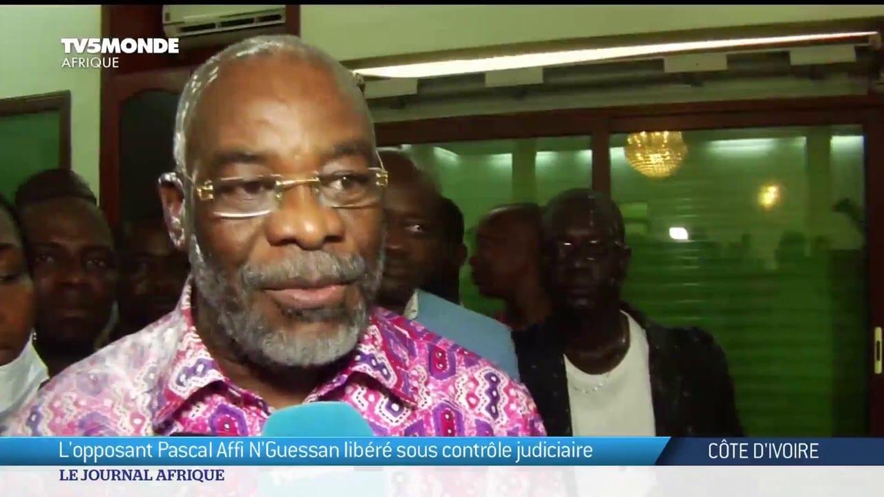 Pascal Affi N'Guessan: «L'opposition doit continuer son combat pour la démocratie»