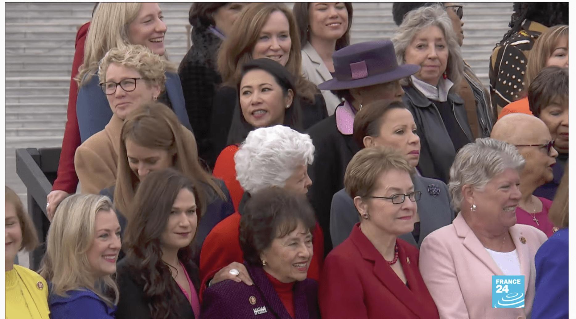 États-Unis : record du nombre de femmes au Congrès