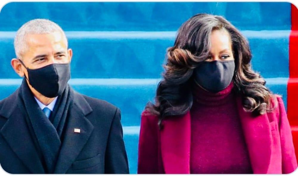 Investiture De Biden: Michelle Et Barack Obama En Vedette (Photos)