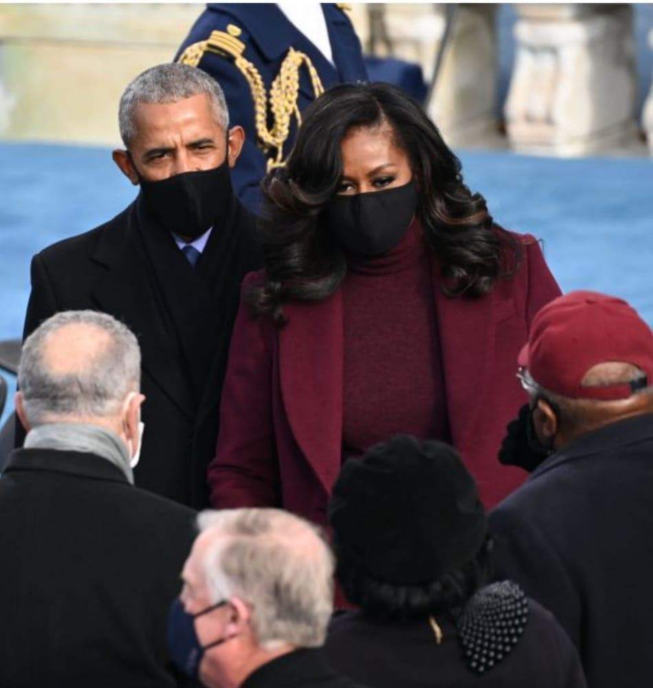 Investiture de Biden: Michelle et Barack Obama en vedette (Photos)