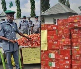 Nigéria : La police saisit 5200 cartouches de balles