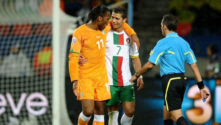 Pour DidierDrogba, Cristiano Ronaldo est une «légende»