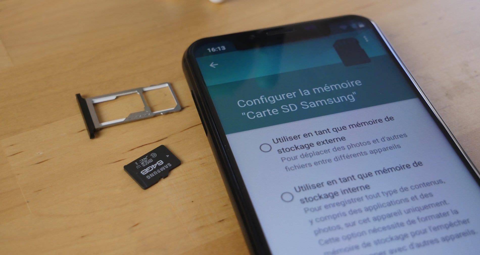 Android: comment déplacer vos photos vers la carte mémoire?