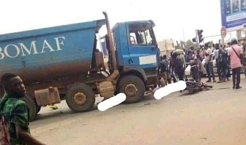 Drame : Un Camion D'ebomaf A Encore Tué
