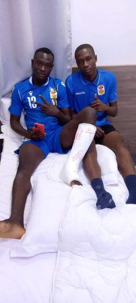 CAN U20 2021: deux joueurs centrafricains à l'infirmerie