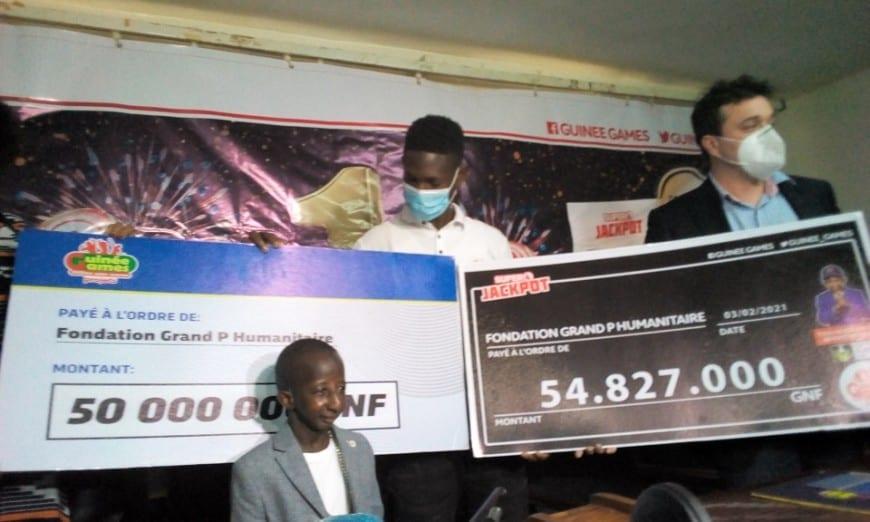 Grand P reçoit un don de plus de 100 millions francs