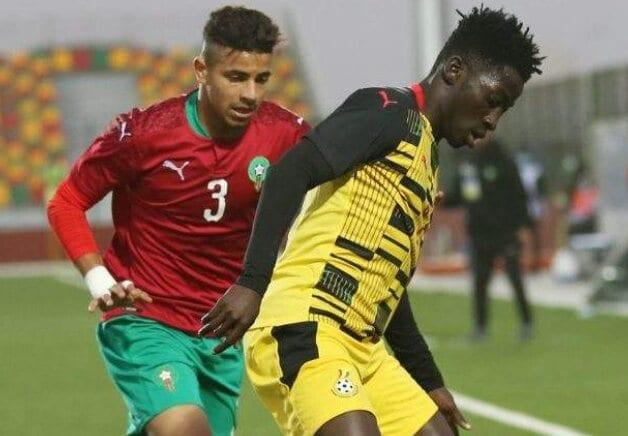 CAN U20 2021: le Maroc et le Ghana se séparent dos à dos