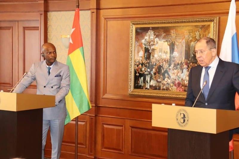 Togo-Russie : La Chambre de Commerce et d'Industrie des deux pays veulent s'unir