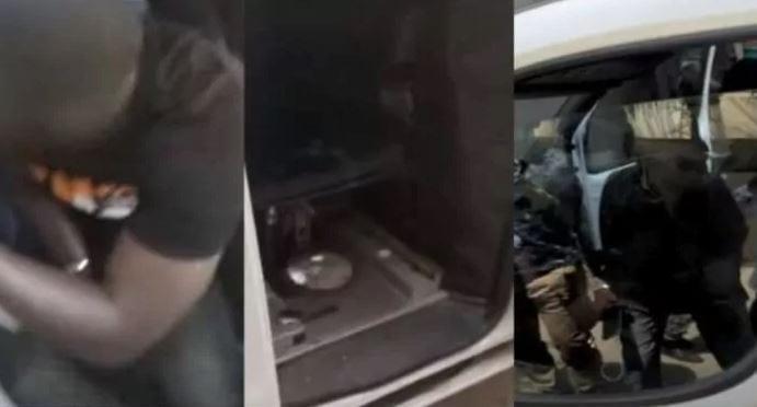 Voici Les Images De La Camionnette D'espionnage Planquée Devant Sonko (Vidéo)