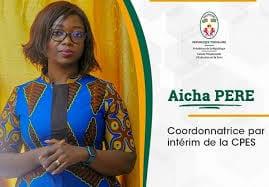 Aicha Pere, Nouvelle Coordonnatrice De La Cpes
