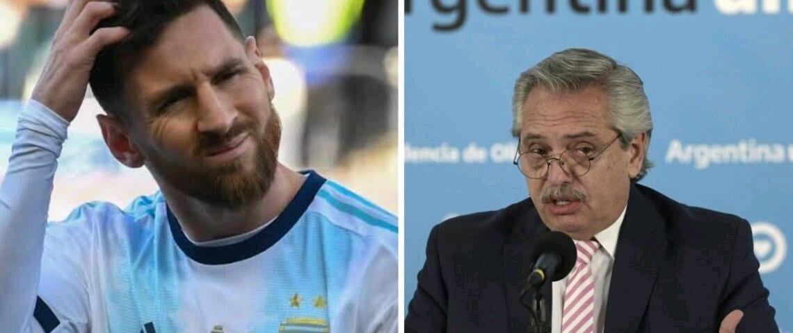 Argentine : Messi loue son jet privé au président de la République