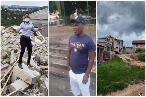 Afrique Du Sud/ L'homme Qui A Démoli La Maison Construite Pour Sa Petite Amie Après Leur Rupture Brise Le Silence (Vidéo)