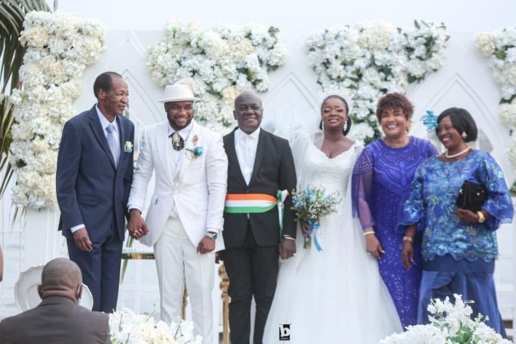Côte d'Ivoire : Blaise Compaoré aperçu au mariage de sa filleule