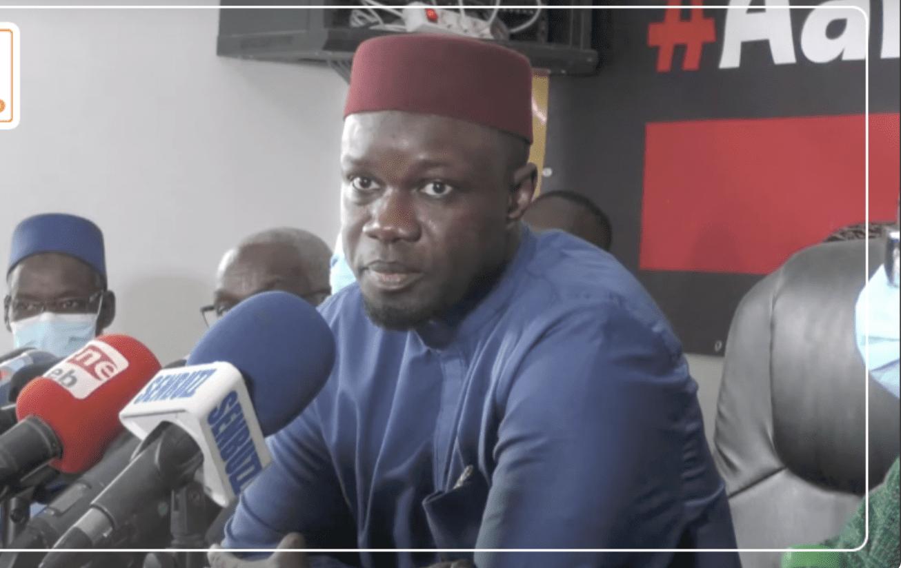 Ousmane Sonko Fera Une Importante Déclaration, Après La Marche De Cet Après-Midi (Avocat)