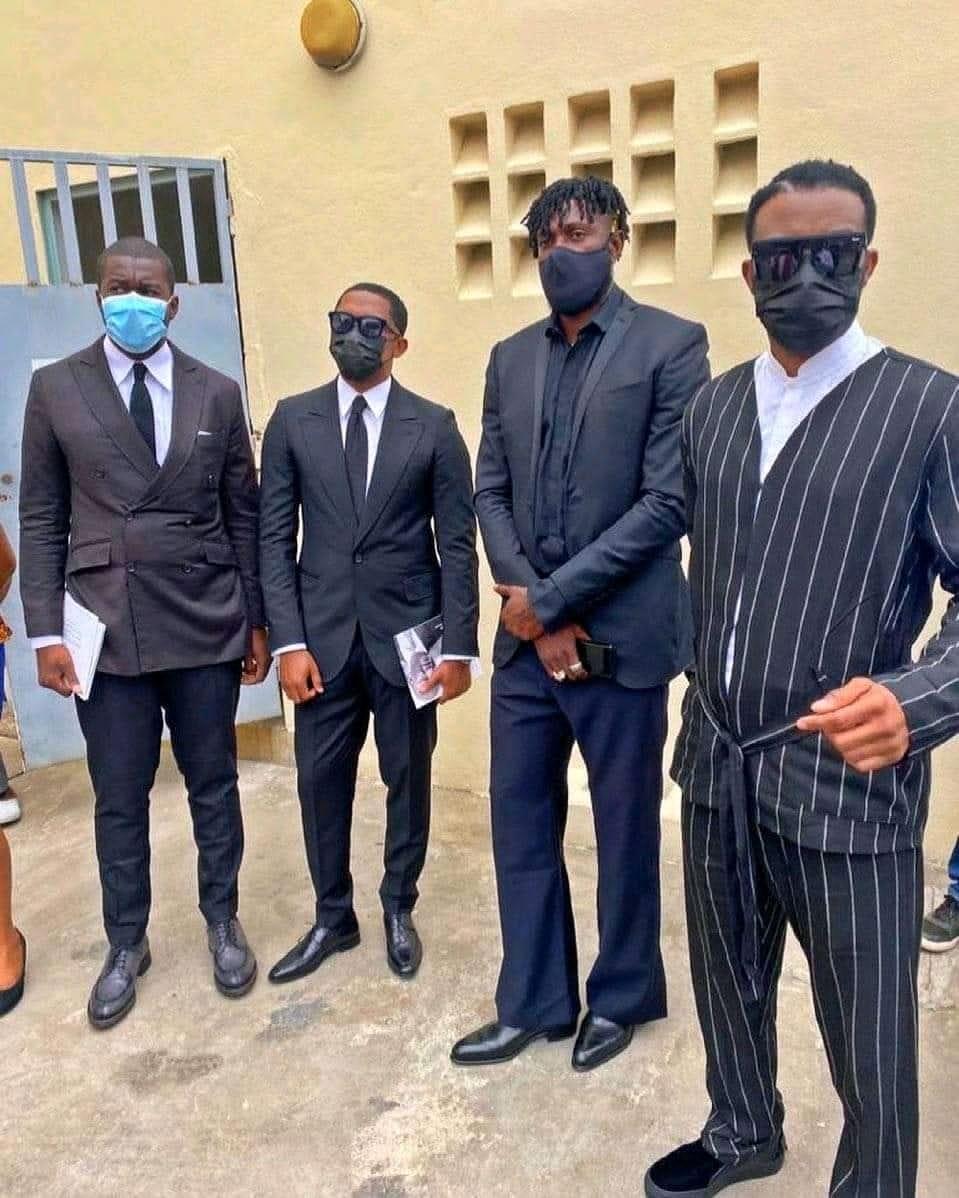 Enterrement d'Hamed Bakayoko : Les tenues d'Adebayor et Fally Ipupa enflamment la toile