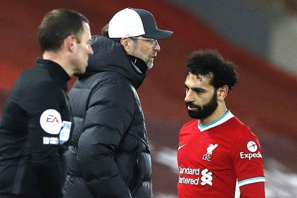 Liverpool-Chelsea: Mohamed Salah en colère après son remplacement, Jurgen Klopp réagit