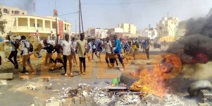 Manifestant Tué À Bignona : L'armée Sénégalaise Se Prononce