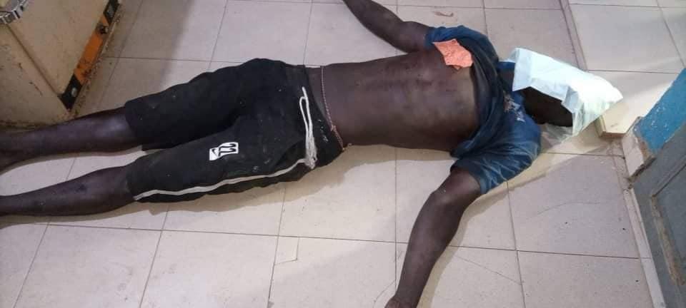 Manifestations À Bignona : Voici Les Images Du Jeune Homme Abattu Par L'armée Sénégalaise(Photos)