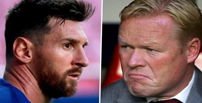 Mercato/ Barça: la surprenante sortie de Koeman sur Messi