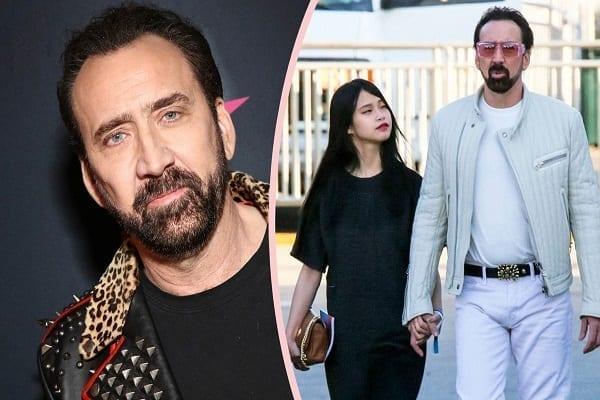 Nicolas Cage, 56 ans, se marie pour la 5ème fois avec sa petite amie de 26 ans (photos)