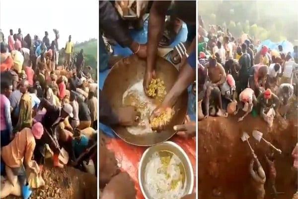 RDC : Découverte d'une montagne d'or dans un village, le gouvernement réagit