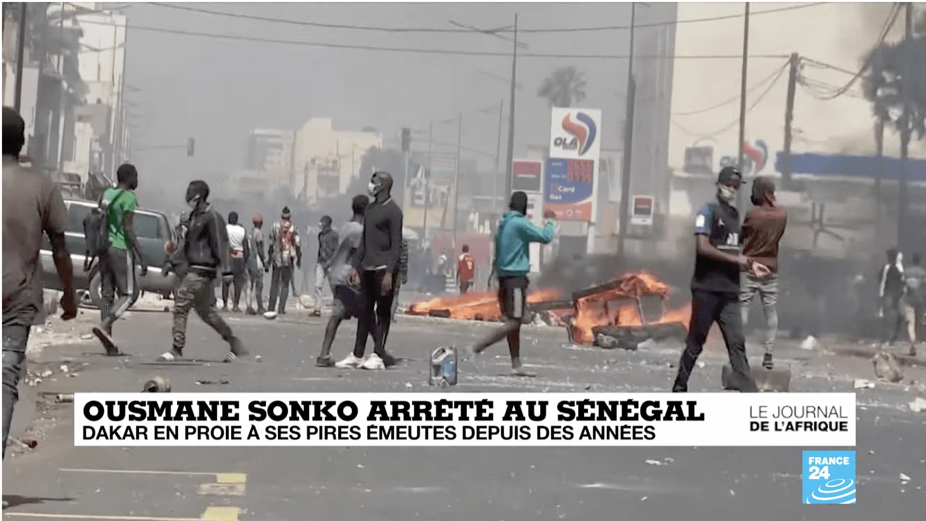 Sénégal : Quatre morts dans les pires émeutes depuis des années