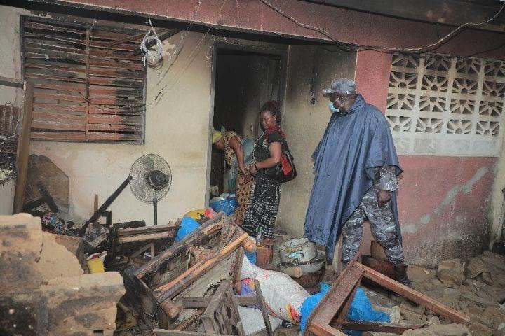 Côte D'Ivoire : L'Explosion D'Un Entrepôt De Gaz Fait Effondrer Un Immeuble Habité