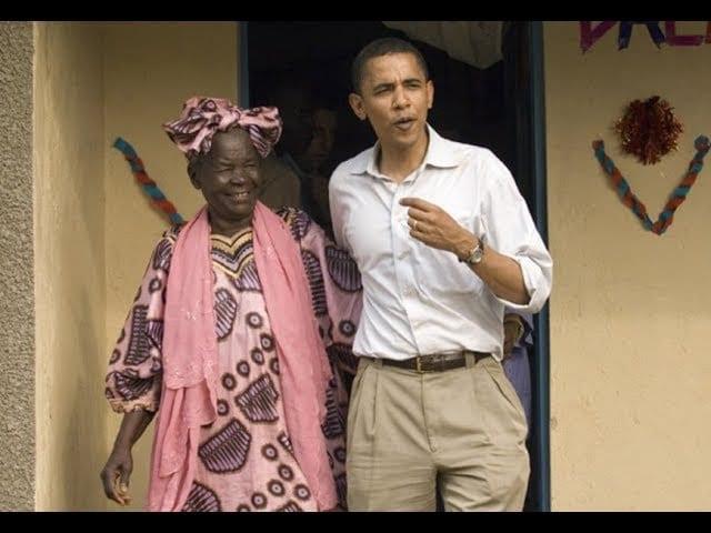 La famille Obama en deuil