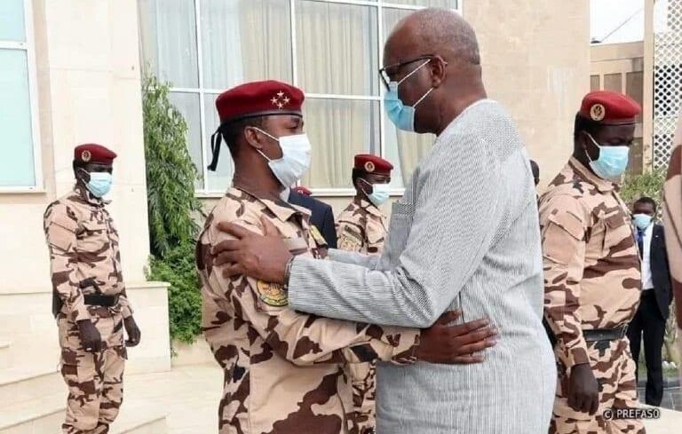 Roch Kaboré, a réitéré son soutien aux nouveaux dirigeants du Tchad