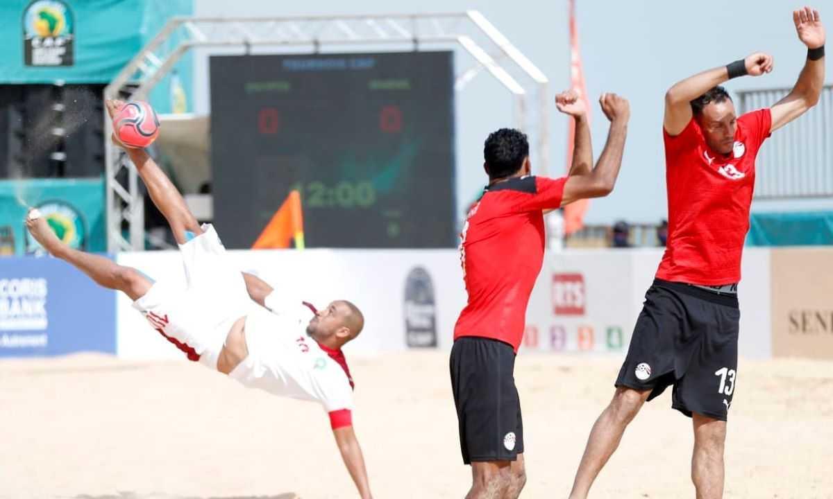 Beach Soccer : le Maroc écarte l'Egypte et fonce sur le Sénégal