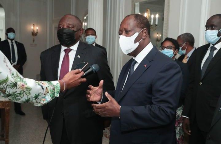 Côte d'Ivoire/ Ouattara demande une visite d'Etat au président Sud-Africain