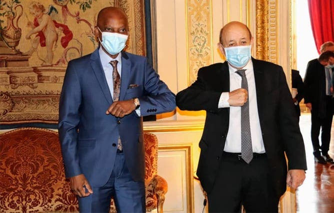 Diplomatie : Le Ministre Togolais Robert Dussey Se Rend De Nouveau Au Tchad