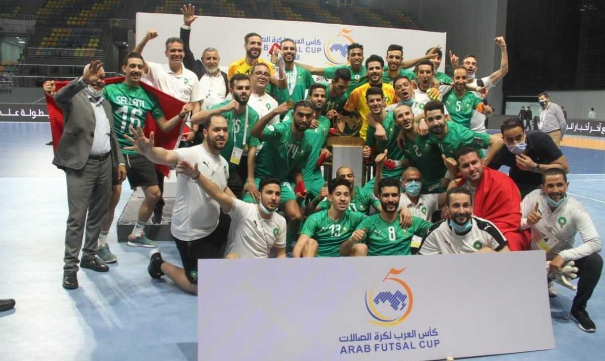 Le Maroc Remporte Le Championnat Arabe De Futsal