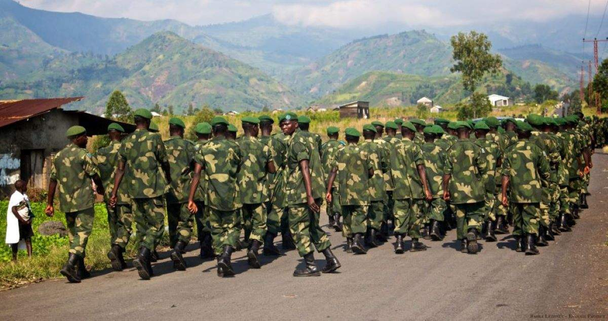 Les Nouveaux Gouverneurs Militaires Congolais Entrent En Fonction Ce Jour