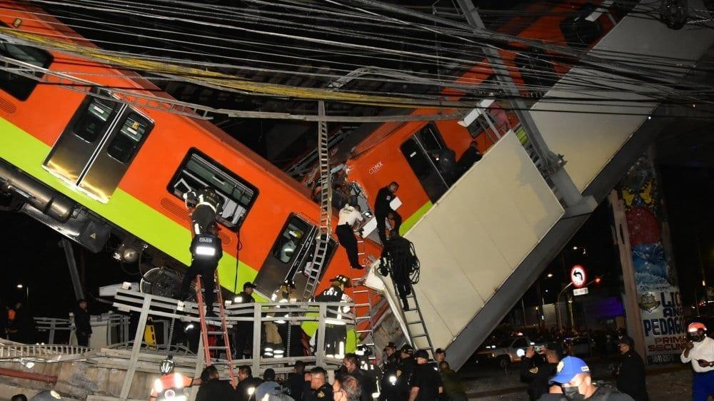 Mexique : Plusieurs morts dans l'effondrement d'un pont